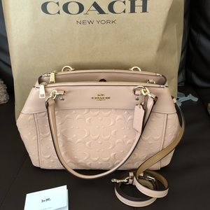 Coach brooke carryall bag